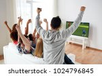 football  leisure and people... | Shutterstock . vector #1024796845