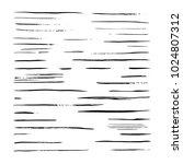 vector sketch black mascara... | Shutterstock .eps vector #1024807312