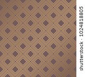 art deco pattern. seamless... | Shutterstock .eps vector #1024818805