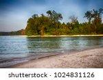noppharatthara beach  krabi ... | Shutterstock . vector #1024831126