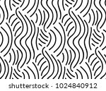 abstract vector seamless floral ... | Shutterstock .eps vector #1024840912
