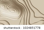 mountain hiking. map line of...   Shutterstock .eps vector #1024851778