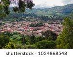 vista de samaipata  santa cruz  ... | Shutterstock . vector #1024868548