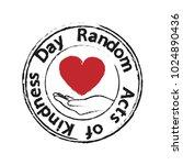 heart in the palms   random... | Shutterstock .eps vector #1024890436