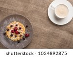 waffle cookies and coffee | Shutterstock . vector #1024892875