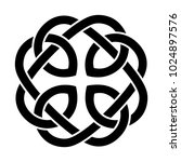 the celtic mandala symbol | Shutterstock .eps vector #1024897576