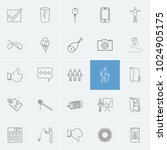 pack icons set with body ...