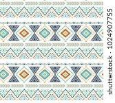 tribal art seamless pattern....   Shutterstock .eps vector #1024907755