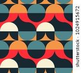 circles illusion seamless... | Shutterstock .eps vector #1024915672