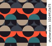circles illusion seamless... | Shutterstock .eps vector #1024915675