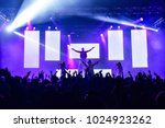 Hands up at a concert....