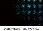 dark blue vector template with... | Shutterstock .eps vector #1024926262