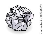 A Ball Of Crumpled Paper.