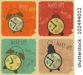 set of vintage  labels   retro... | Shutterstock .eps vector #102494012