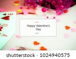 message for valentine s day | Shutterstock . vector #1024940575