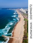 aerial view of durban  south... | Shutterstock . vector #102494072