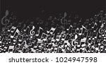 abstract musical background ... | Shutterstock .eps vector #1024947598