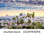 los angeles  california  usa... | Shutterstock . vector #1024954096
