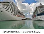 st john's  antigua and barbuda  ... | Shutterstock . vector #1024955122