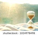 time passing concept urgency... | Shutterstock . vector #1024978498