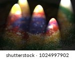magic colors of christmas... | Shutterstock . vector #1024997902