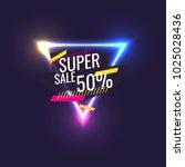 best sale banner. original... | Shutterstock .eps vector #1025028436