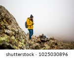 living conditions of man in... | Shutterstock . vector #1025030896