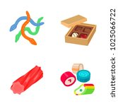 confectionery color vector icons | Shutterstock .eps vector #1025066722