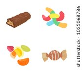 confectionery color vector icons | Shutterstock .eps vector #1025068786