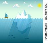 the ship is in danger. the...   Shutterstock .eps vector #1025095522