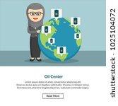 oil center job information | Shutterstock .eps vector #1025104072
