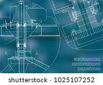 mechanical engineering.... | Shutterstock .eps vector #1025107252
