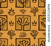 abstract golden blossoms....   Shutterstock .eps vector #1025113696