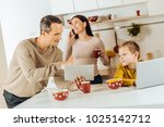 interesting discussion.... | Shutterstock . vector #1025142712