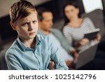 need your love. sad pre teen... | Shutterstock . vector #1025142796