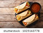 vegetable indian rolls are... | Shutterstock . vector #1025163778