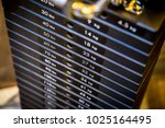 close up plates stacked of... | Shutterstock . vector #1025164495