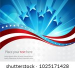 abstract image of the american... | Shutterstock .eps vector #1025171428
