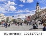 madrid  spain   september 15 ...   Shutterstock . vector #1025177245