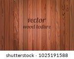 vector brown wood texture.... | Shutterstock .eps vector #1025191588
