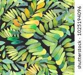 seamless pattern. watercolor... | Shutterstock . vector #1025194096