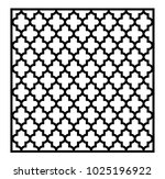 decorative panels with ogee...   Shutterstock .eps vector #1025196922