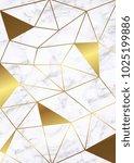 marble wedding invitations...   Shutterstock .eps vector #1025199886