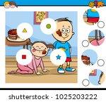 cartoon illustration of... | Shutterstock .eps vector #1025203222