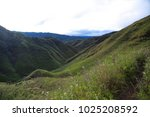 dzukou valley. border of the... | Shutterstock . vector #1025208592