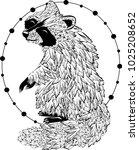 animals raccoon. character...   Shutterstock .eps vector #1025208652