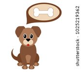 cartoon dog. pet. | Shutterstock .eps vector #1025219362