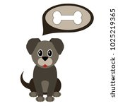 cartoon dog. pet. | Shutterstock .eps vector #1025219365