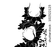 black and white sketches of... | Shutterstock .eps vector #102522125