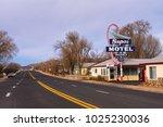 seligman  arizona  usa  ... | Shutterstock . vector #1025230036